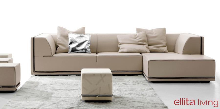 מערכות ישיבה פינתיות, ספה פינתית